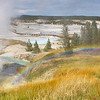 Rainbow at Geyser