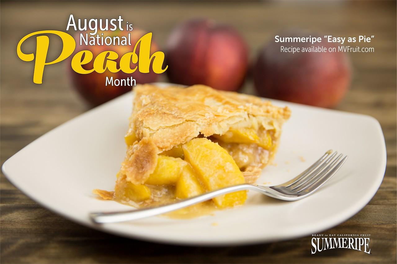 Summeripe Easy as Pie Peach Pie