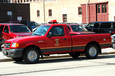 Utility 2 - 2002 Ford/Ranger Pick Up - Fire Prevention Bureau - Former Utility 3