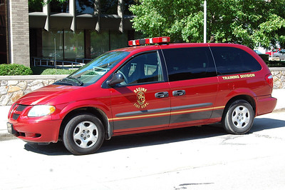 Utility 3 - 2008 Dodge Caravan - Fire Prevention Bureau - (Former Car 43 - Safety Officer)