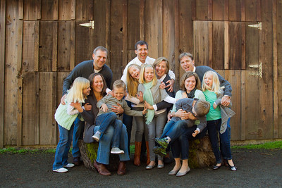 The Chamness Family 2014