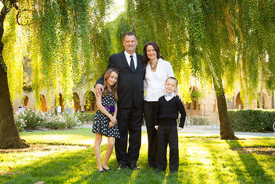The Stratton Family 2014