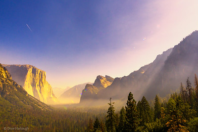 Misty Morning At Tunnel View
