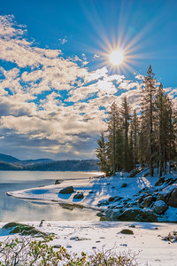 Shaver Lake Snow