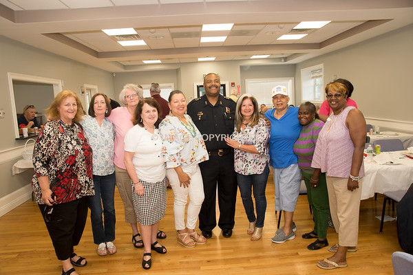 2018 Retired Officers Cookout