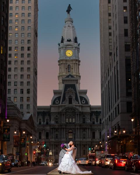 Julie and Jeremy's wedding
