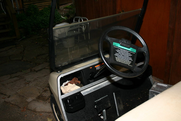 Pop Up Camper & Golf Cart