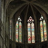 Many, many stained glass windows....