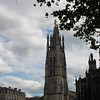 The bell tower at the Cathedrale St. Andre....the largest church in Bordeaux.