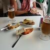 Tapas & beer in Ojen with the locals.....