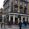 Prince Alfred Pub around the corner from our London hotel....half a block to Hyde Park and the Queensway.