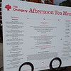 The 'Afternoon Tea' menu.....not cheap - 27.50 BP per person.