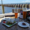 We found cold beer and sushi at Pier 22 next to the marina.....