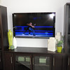 Living room wired for flat screen TV.....