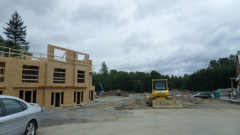 More phases to come with a total of 75 homes on a cul-de-sac.