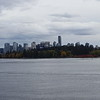 Skyline with Stanley Park in the foreground. - named after the same Lord Stanley as the Stanley Cup in hockey.