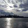 The Vancouver skyline as we depart......