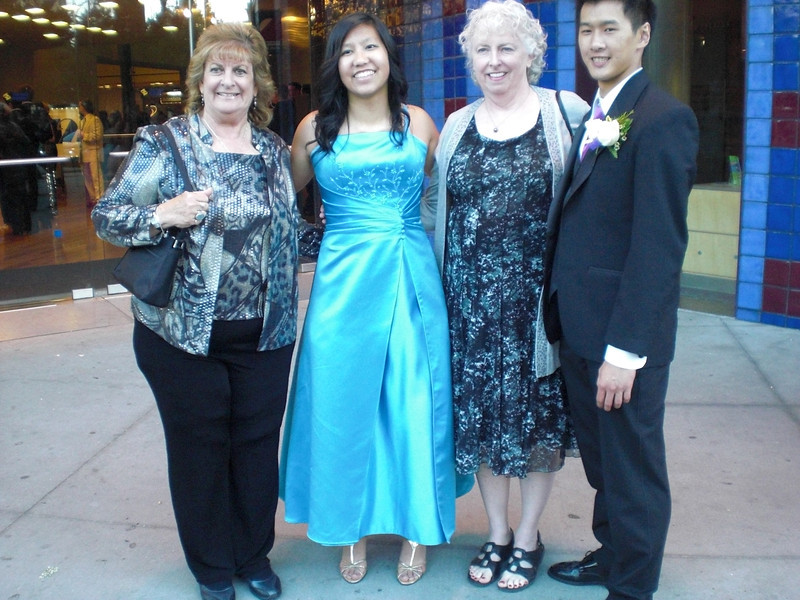 2012 Prom at the Tech Museum--Randi and I just dropped in