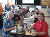 Last Day for Teachers--Math folks at breakfast