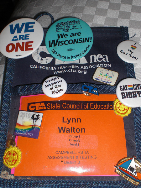 The name badge holder I've used for all of these years...