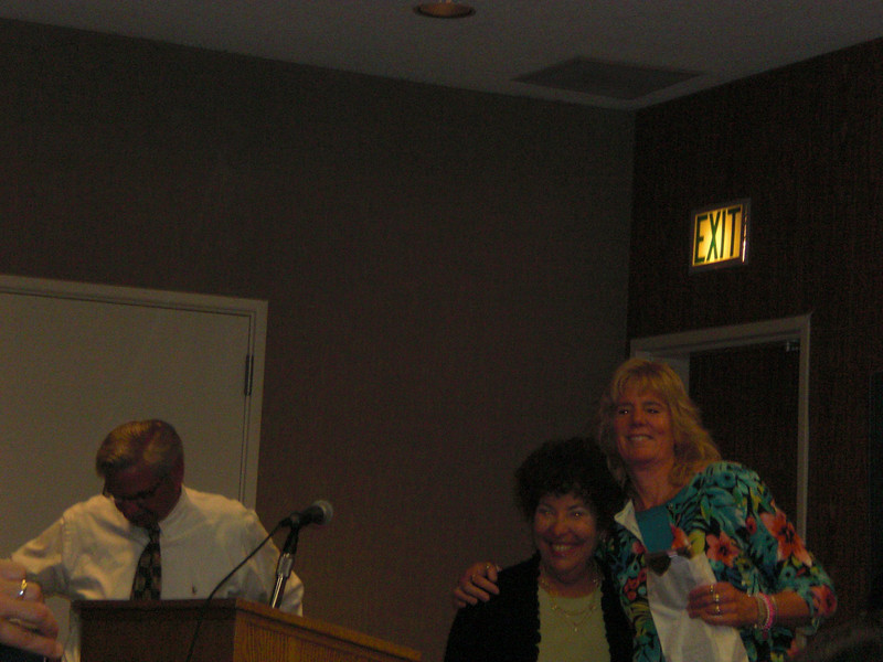 Kathy Wahl (I taught all 4 of her kids) was our Volunteer of the Year