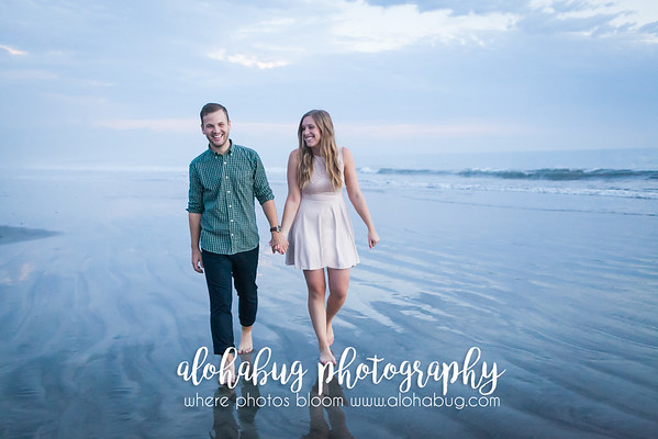Melanie + Andrew's Engagement Photos at Hotel Del Coronado Beach by AlohaBug Photography
