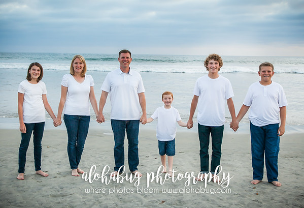 Sarah + Family, Photos at Coronado Beach