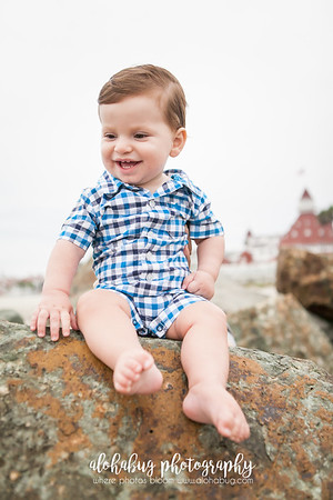 Parisa & Family, Coronado Beach Family Photos by AlohaBug Photography