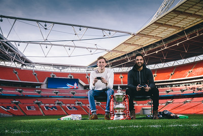 Every Gamers Launch at Wembley Stadium for The FA