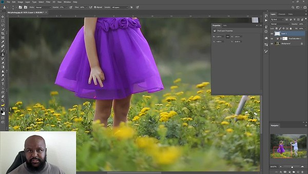 Photoshop color change tutorial