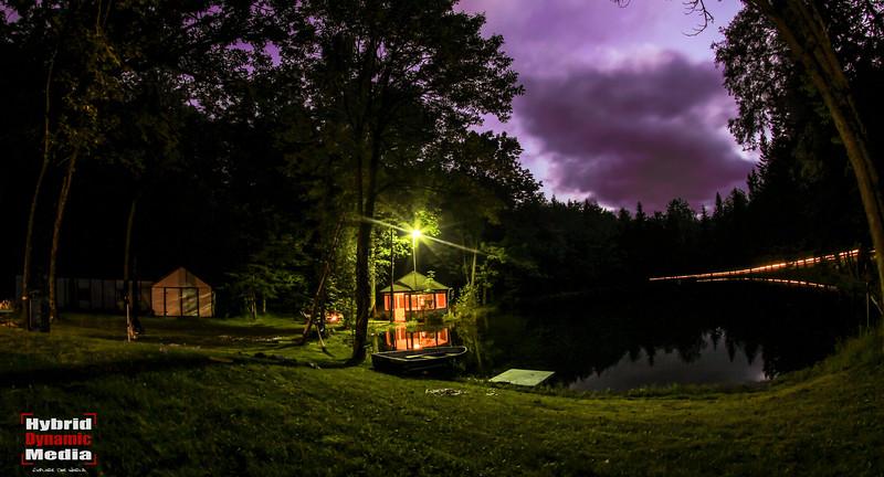 Peaceful Little Lake / Petit Lac Tranquil