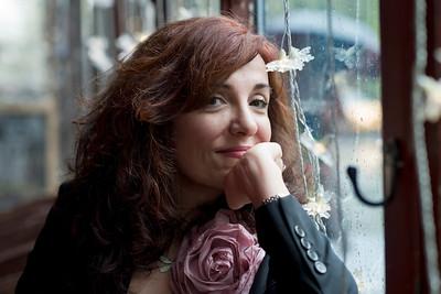 Elvira Lindo, escritora. Nueva York. Abril 2014