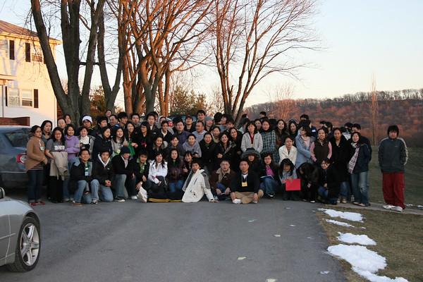 2007 Spring Retreat Group Photo
