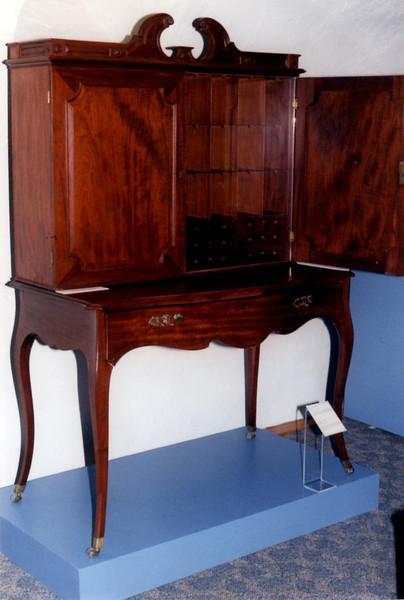 Gov. Carleton's desk