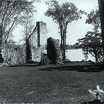 A view of the fort ruins in 1895