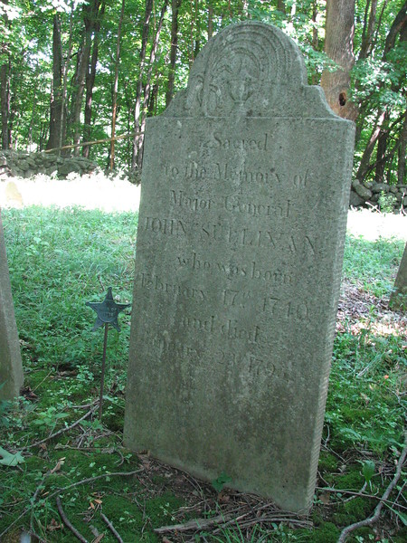 Gravestone of John Sullivan