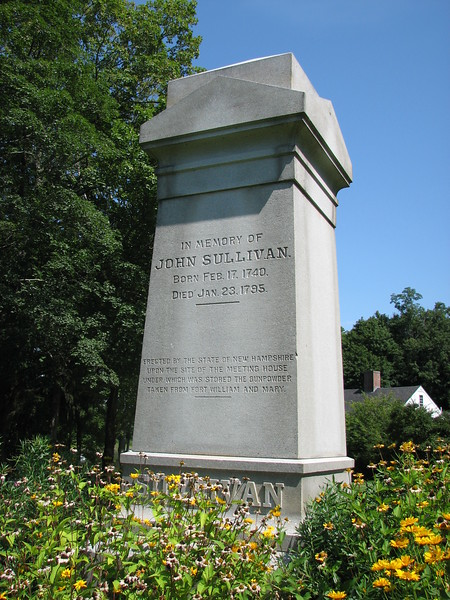 Close up of the monument