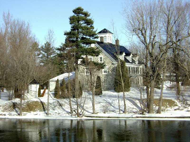 View of Christie's Manor from the river