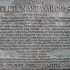 Close up of the plaque. Samuel Chase gets first mention.