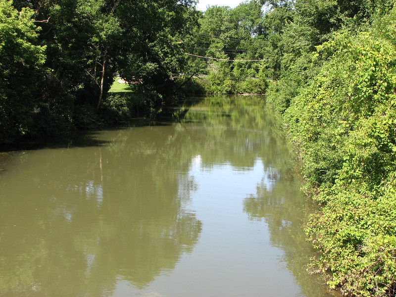 View of the creek as seen from Rt 4