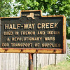 "Historical marker at Half-Way Creek, just north of the Village of Fort Ann, along Rt 4.<br /> More info on the marker at:  <a href=""http://www.hmdb.org/marker.asp?marker=58086"">http://www.hmdb.org/marker.asp?marker=58086</a>"