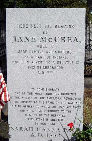 The Murder of Jane (Jenny) McCrea  *