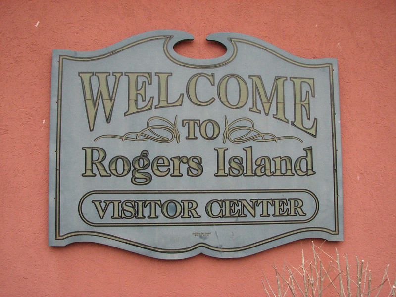 Sign on the Visitor's Center/Museum