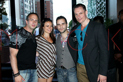 """NEW YORK, NY - JUNE 26:  """"The Jersey Devil"""" trailer release party at Level R on June 26, 2014 in New York City."""