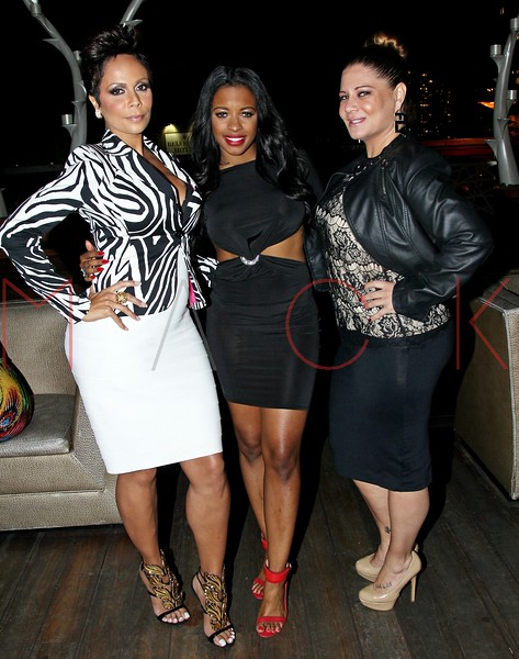 NEW YORK, NY - SEPTEMBER 18:  Alisa Maria, Jessica Rich and Karen Gravano at XVI Rooftop Lounge on September 18, 2013 in New York City.  (Photo by Steve Mack/S.D. Mack Pictures)