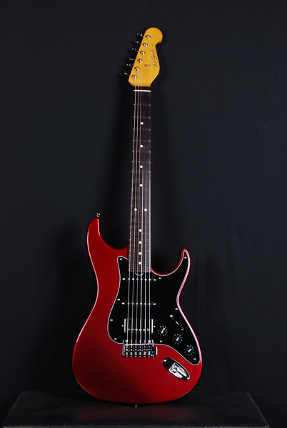 Don Grosh Retro Classic Custom in Black Cherry Metallic, SSH Pickups