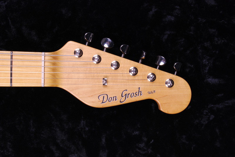 Don Grosh Retro Classic Custom in Mary Kay Sonic Blue, SSS Pickups