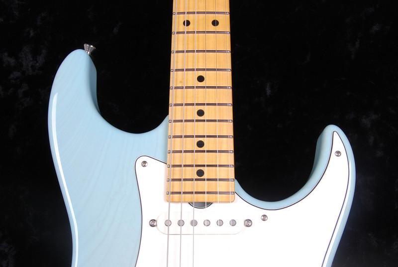 Don Grosh Retro Classic Custom in Mary Kay Sonic Blue, SSS Pickups
