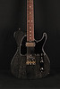 Don Grosh Retro Classic Hollow T in Black with White Grainfill, TH Pickups