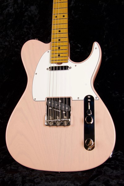 Retro Classic Vintage T #3609, Mary Kay Shell Pink, Grosh T/T pickups